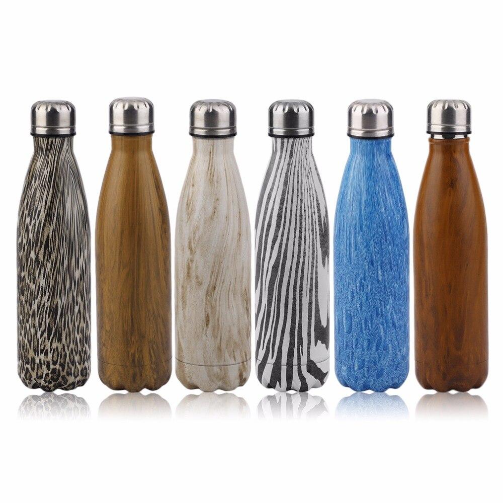 Deportes al aire libre Botella de Agua de Bolos Creativo Botella de Vacío de Ace