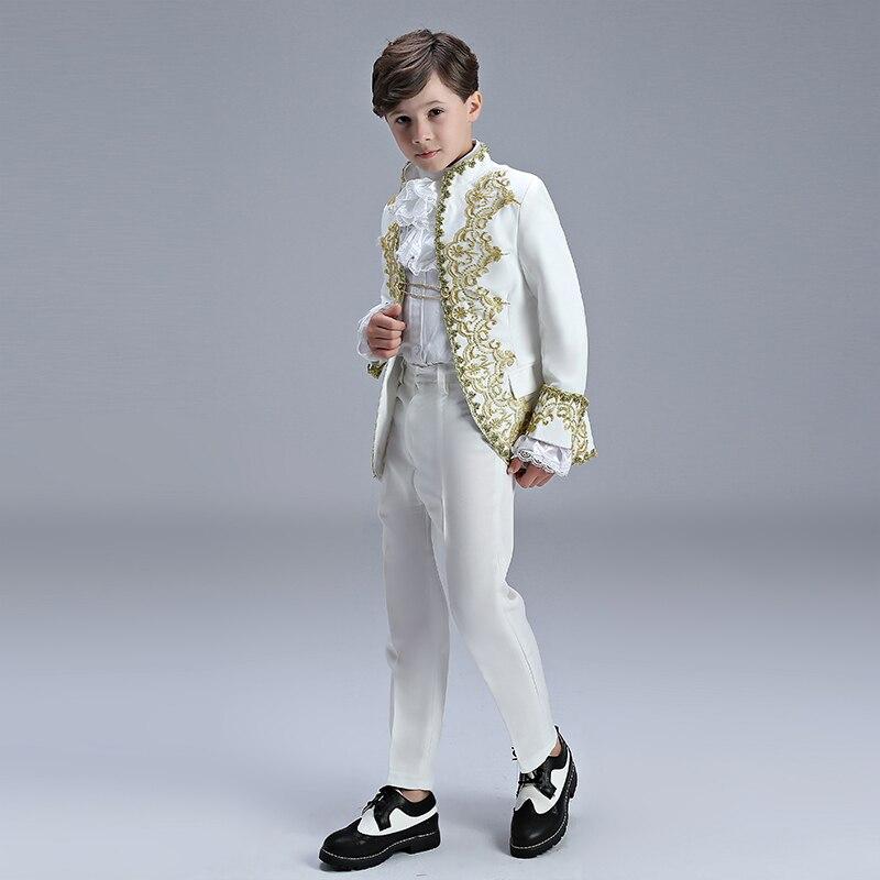 europeu vestido príncipe encantador drama traje rpg