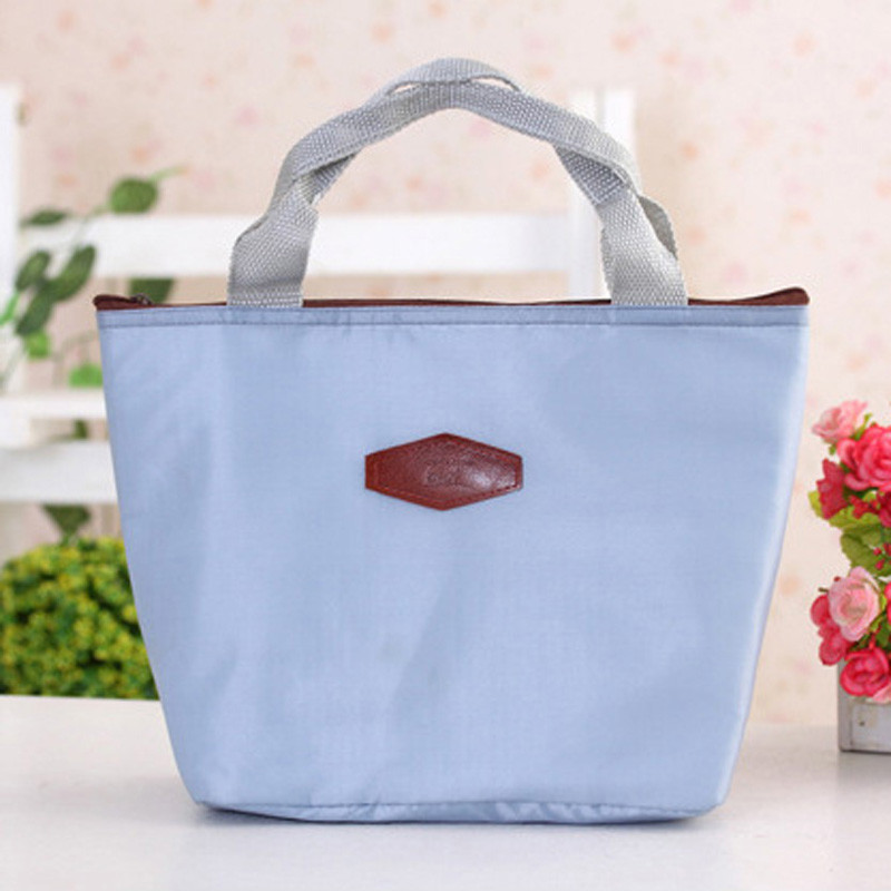 Portable Lunch Bag 2017 New Waterproof Portable Picnic Insulated Food Lunch Storage Box Bag For Women Girls Kids