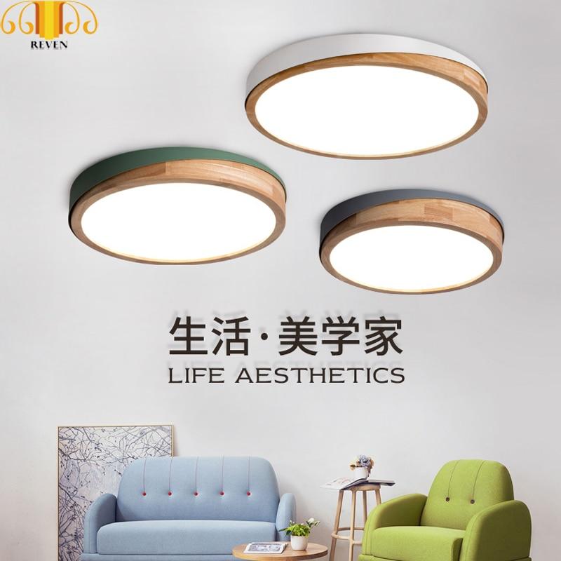 Lights & Lighting Modern Led Ceiling Iron Acryl Colorized Round 5cm Super Thin Led Lamp.led Lights Latest Technology