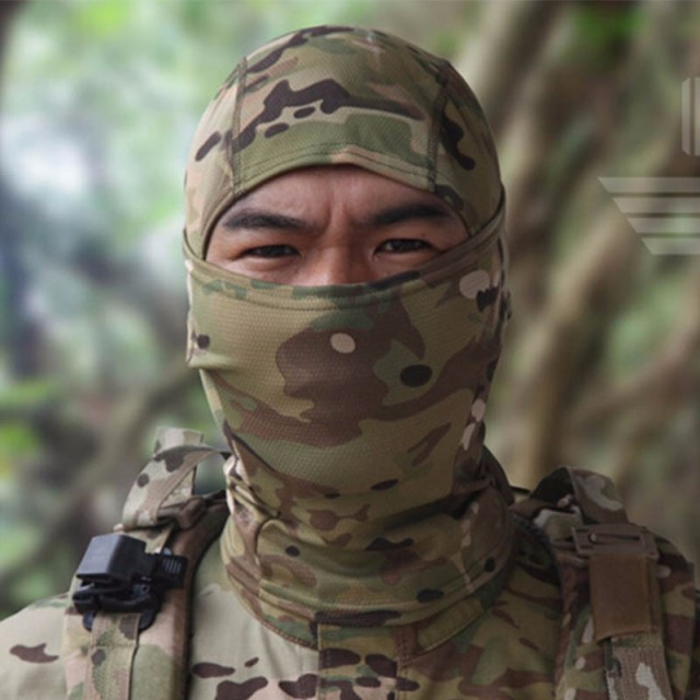 Military Tactical Balaclava Camouflage Airsoft Game Hunting Riding Camping Hiking Cycling Face Mask Neck Protector