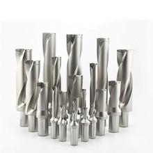1PCS U drill quick drill WC25.5-30mm C32 3D depth Shallow Hole drill for Each brand WC05 series blade стоимость