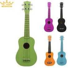 Amantes del Deber-tener 21 Pulgadas Tilo Ukelele Ukelele 4 Cuerdas Color Puro Profesional Instrumento Musical de Tono Puro