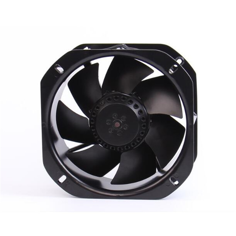 250FZY6-S 220V 120W 0.55A Miniature Industrial Axial Fan Cooling Fan Full Metal Blade High Temperature Industrial Blower small aluminum high temperature cooling fan blade metal vane 70mm diameter 6mm shaft