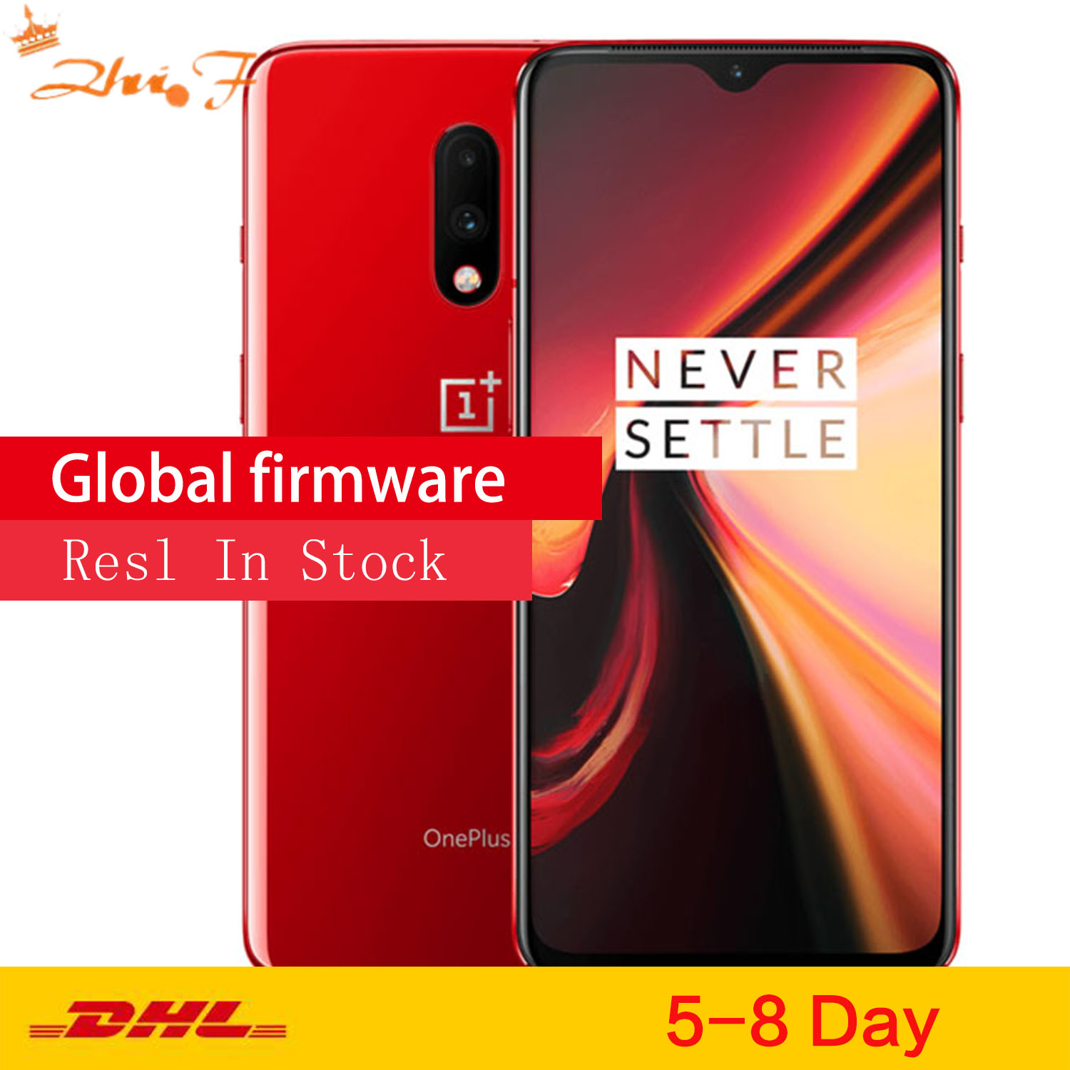 Original Oneplus 7 Smartphone 6.2'' 2340*1080P Android 9 Snapdragon 855 8G RAM 256G ROM Mobile Phone