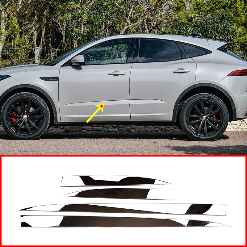 For Jaguar E Pace E PACE 2018 2019 Car Stainless Steel