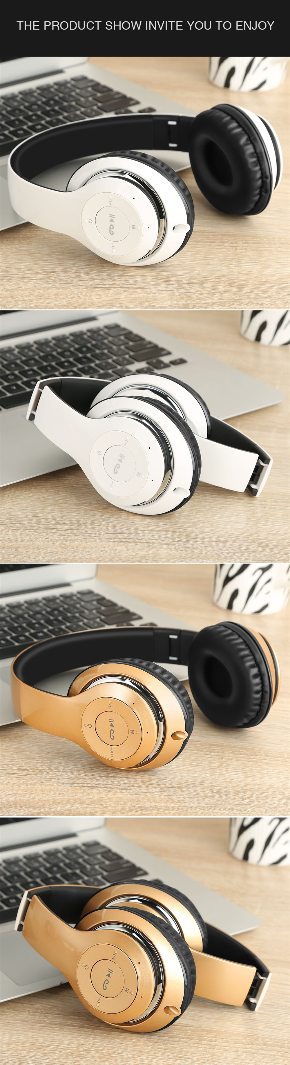 779c27c48bd ... 17.72-18.41/piece Sound Intone BT-09 Bluetooth Headphones Wireless with Mic  Support TF Card FM Radio Stereo Headset For iPhone Samsung Sony Xiaomi Tips!