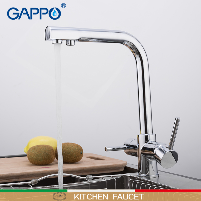GAPPO Kitchen Faucet Kitchen Mixer Sink Faucets Taps Faucets For Kitchen Faucet With Filtered Water Kitchen Mixer Drinking Taps