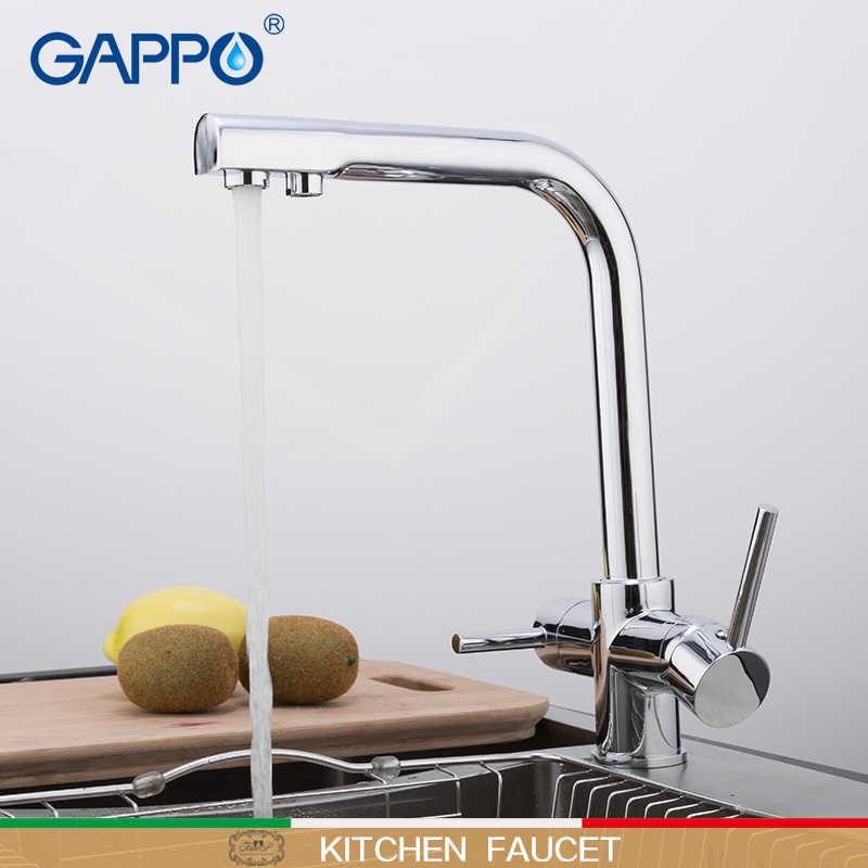 Gappo torneira da cozinha misturador da pia torneiras para torneira da cozinha com água filtrada misturador da cozinha torneiras bebendo