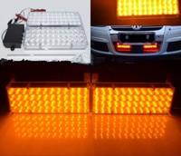 XYIVYG 2x48 Yellow LED Car Flashing Amber Off Road Strobe Light Emergency Grille Lamp