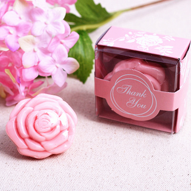 Handmade Gifts For Wedding: Wedding Gifts For Guests Creative Mini Rose Soap Handmade