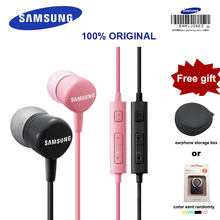 SAMSUNG Original H-S130 3.5mm In-ear Wired Headsets with Micr earphones for Samsung Galaxy S8 Support Official Certification(China)