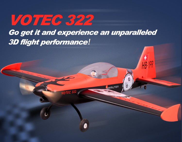 FMS 1400MM 1.4M Votec 322 V322 PNP Durable EPO Aerobatic 3D Big Sports Radio Control RC Airplane Model Plane Aircraft A купить недорого в Москве