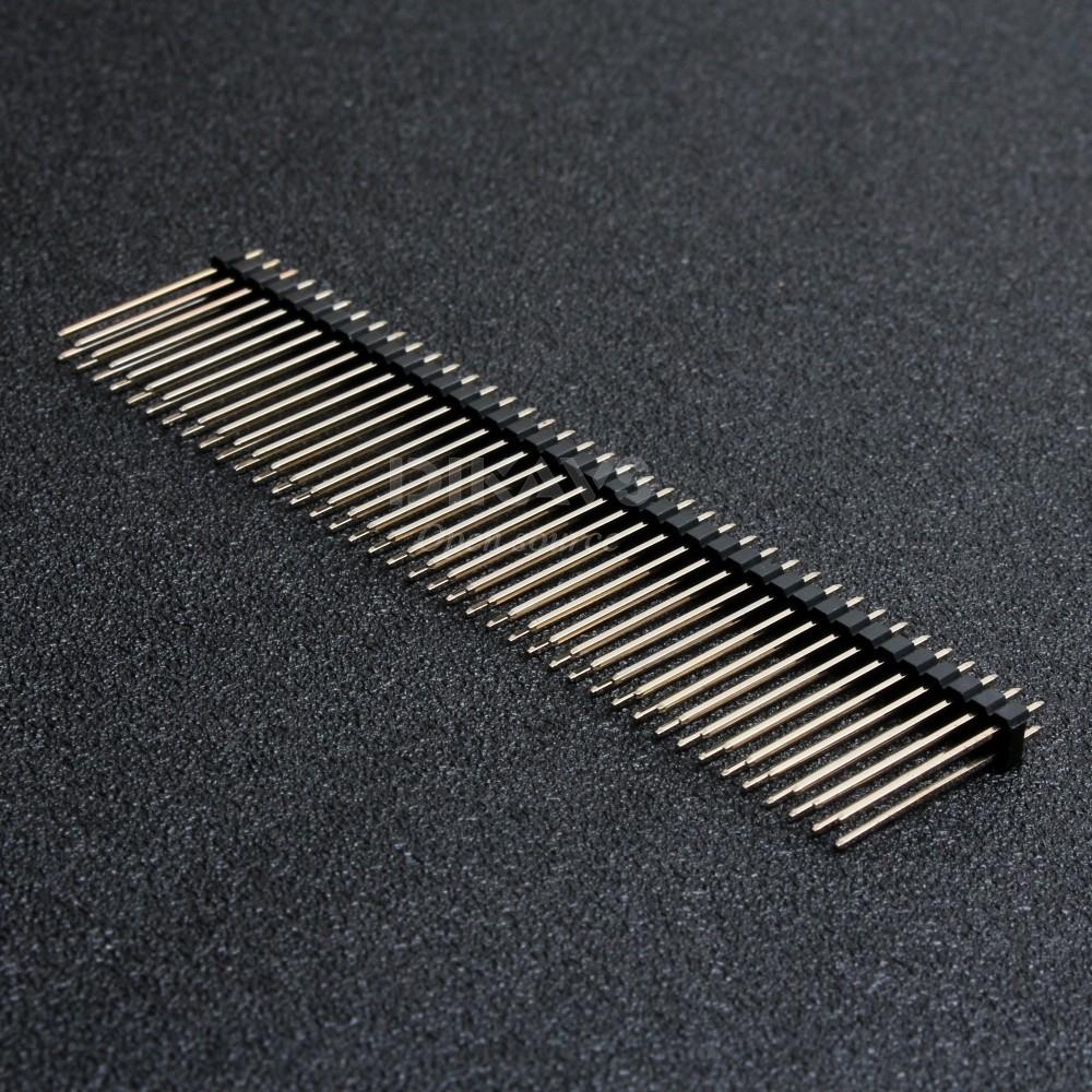 5 Male pin Straight 2mm THT 1x5 DS1025-01-1*5P8BV1-B Pen Pencil Bar Pin
