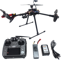 RTF Full Kit HMF Y600 Tricopter 3 Axis Copter Hexacopter APM2.8 GPS Drone with Motor ESC AT10 TX&RX F10811-E