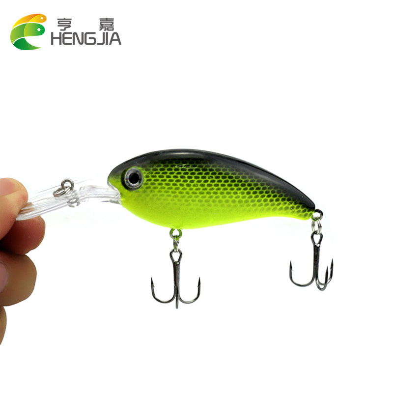 HENGJIA 1PC 14g 10cm Crankbait fishing Wobblers Fishing Tackle pesca Swim Crank Bait Bass Fishing Lure pike perch depth 1-2.5m 1pcs lifelike 8 5g 9 5cm minow wobblers hard fishing tackle swim bait crank bait bass fishing lures 6 colors fishing tackle
