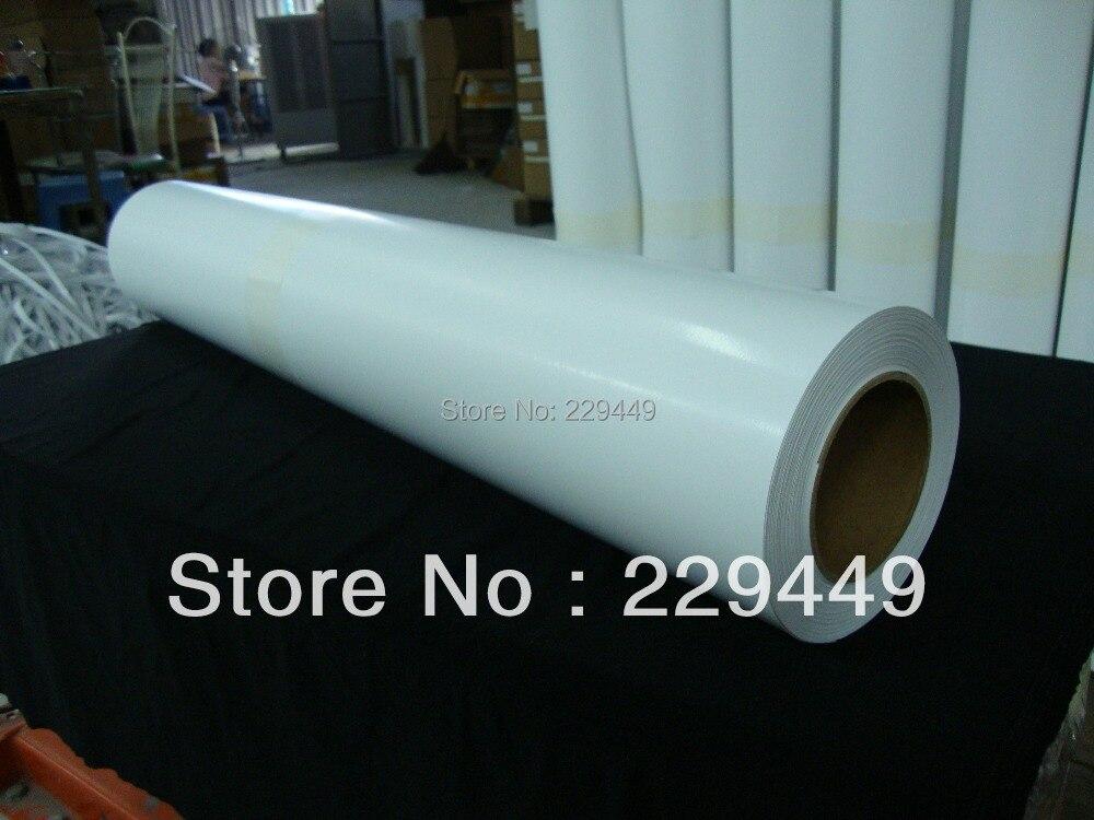Foncé rouleau éco solvant jet d'encre papier de transfert de chaleur/PU film avec jet d'encre imprimante pour t-shirt en coton et tissu
