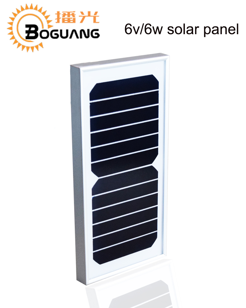 Click here!! BOGUANG 5pcs 6W 6V Solar panel quality cell high efficiency  Glass Module Alu Frame for Off Grid Camp street light Roof Battery 9ac83de2cb