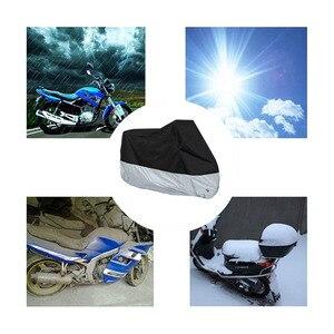 Image 2 - オートバイカバー屋外 atv スクーター防塵防水太陽バイク保護車のカバー耐久性のある雨プロテクター coque