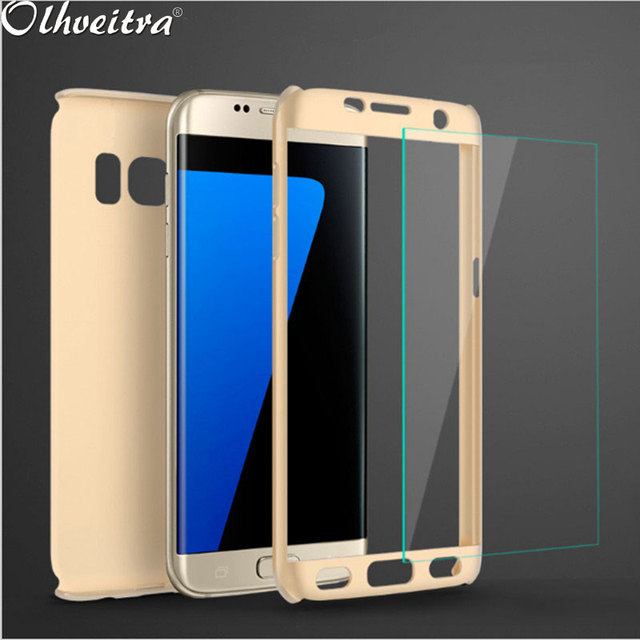 brand new 17dab ab545 US $4.69 |Full Body Case For Samsung Galaxy On7 2016 J7 Prime Case 360  Degree Fundas + Tempered Glass Film For Samsung On5 2016 J5 Prime-in Fitted  ...