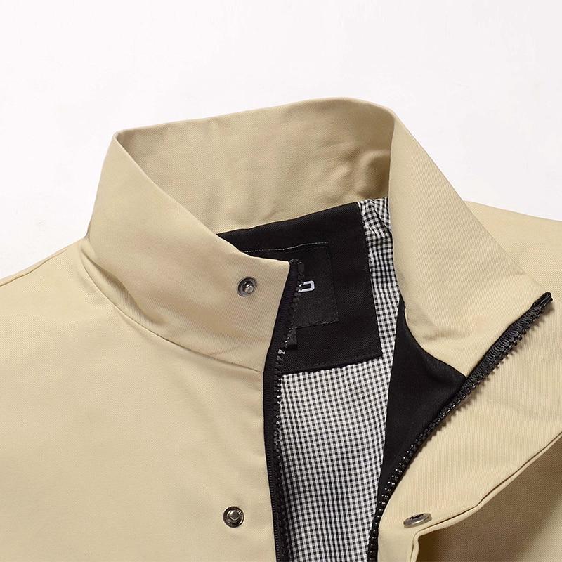 Nove jesenske in zimske moške bombažne jakne stoji ovratnik moške - Moška oblačila - Fotografija 4