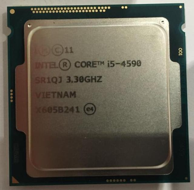 Новый оригинальный Core I5 4590 CPU 3.3 ГГц четырехъядерный процессор LGA1150 CPU свободной части