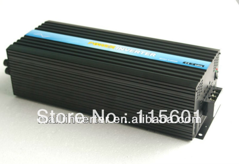 Factory Direct Selling 6000W Pure Sine Wave Inverter Frequency Converter CE Approved