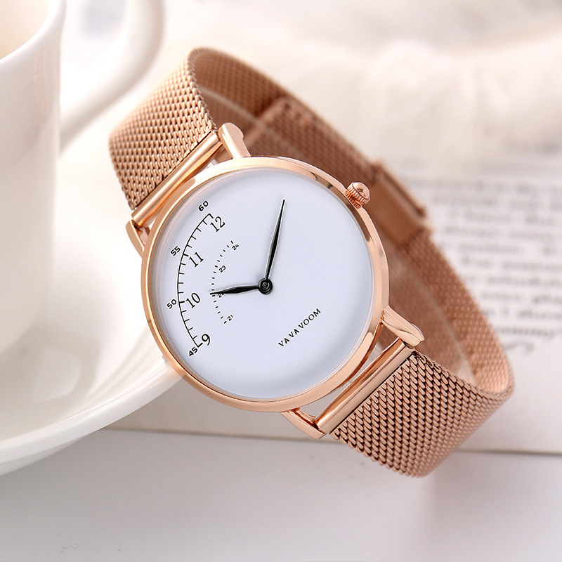Women's Watches Top Brand Luxury Ultra Thin Wrist Watch Women Watches Rose Gold Ladies Watch Clock Reloj Mujer Zegarek Damski