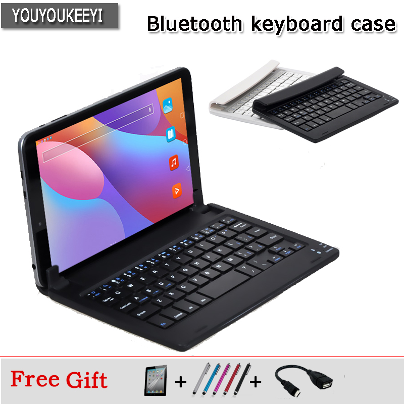 цена на Universal Bluetooth Keyboard For CHUWI HI8 Air 8 inch tablet, Portable Bluetooth Keyboard For Chuwi Hi8 air+screen protector