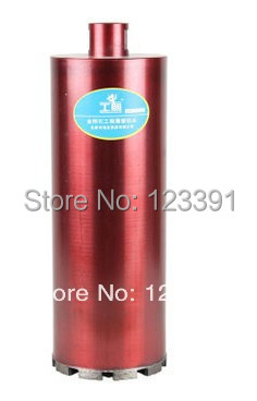 2014 rush promotion of high quality silver welded diamond Drill bits 168*350*12mmcore bit for water-electricity installation promotion sale of 1pc silver welded diamond drill bits127 350mm wet diamond core bit for water electricity installation