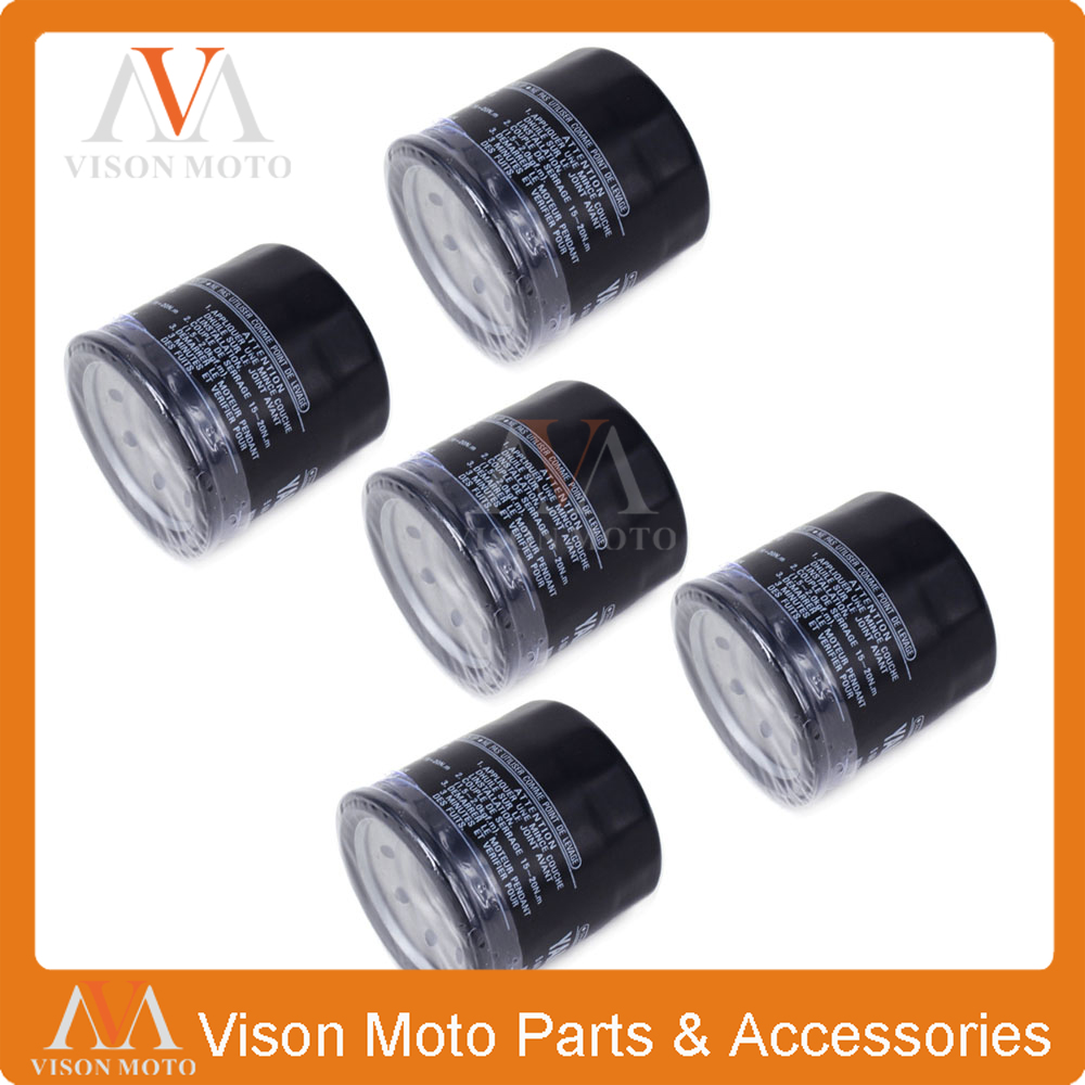 5pcs Motorcycle Oil Filter Cleaner For Triumph 600 Speed 650 Daytona