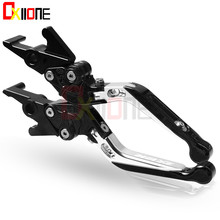 For Kawasaki ZX12R Universal Brake CNC Aluminum Adjustable Folding Extendable Clutch Levers Motorbike Accessories
