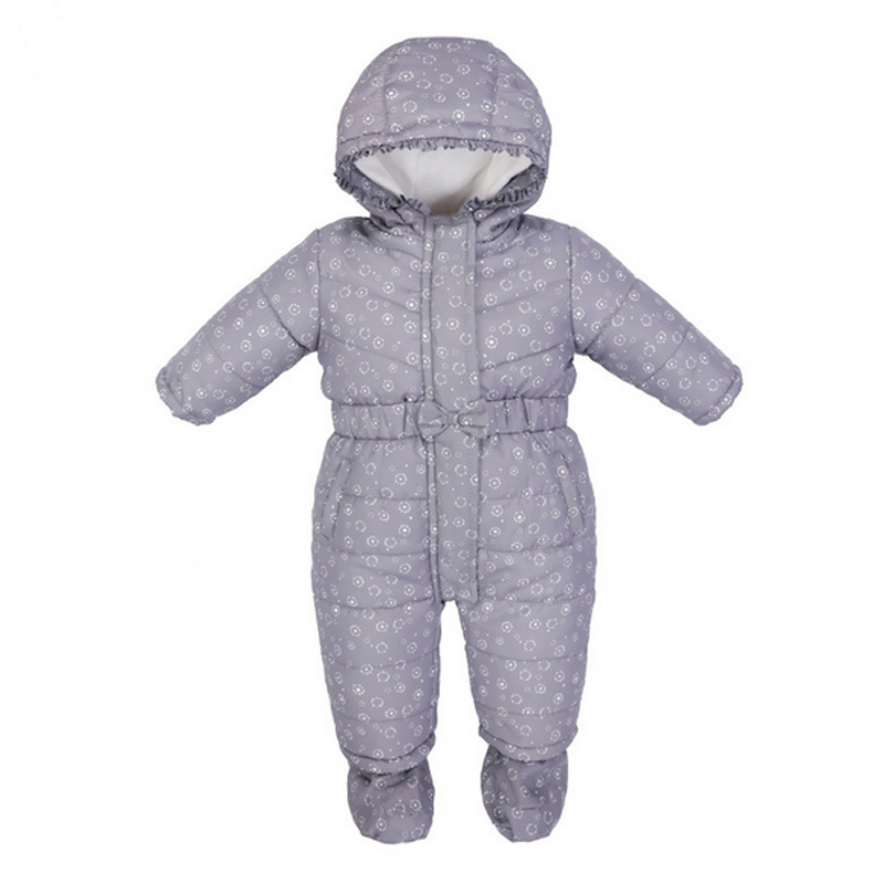 Brand New Baby Snowsuits Cotton Hooded Jumpsuit Boys Girls Winter Overalls Kids Print Clothes Newborn Thicken Rompers Outerwear kids winter overalls for girls 2017 newborn clothes infant cartoon baby boys hooded rompers thicken warm cotton baby snow suits page 2