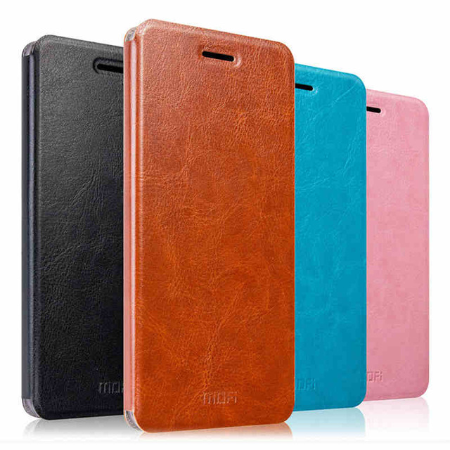 Original Mofi For Xiaomi Redmi 4X Case Flip Luxury Leather Stand Fundas Coque Cover Case For
