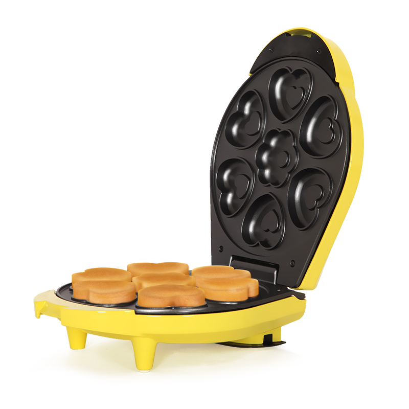 Waffle Maker Children Cartoon Home Automatic Multi-function Cake Machine Mini Baking Small Baking Cake Waffle Machine 1