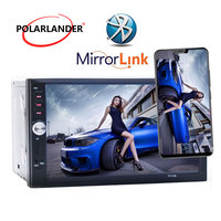 Rearview Camera 7 inch Car Audio Digital MP5 player 2 Din Stereo Car Radio 12V Touch screen USB SD AUX FM Bluetooth Mirror Link