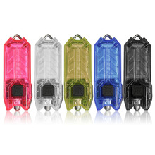 Nitecore T Series Tube 45LM 2 Modes Mini Keyring Key Chain USB Rechargeable LED Keychain Flashlight Light Lamp Torch