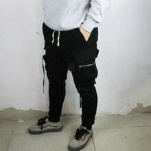 2018  Cargo Cotton PANTS fashion men pants fitness jogger men street wear hip hop clothing cool sweatpants Harem pants цена
