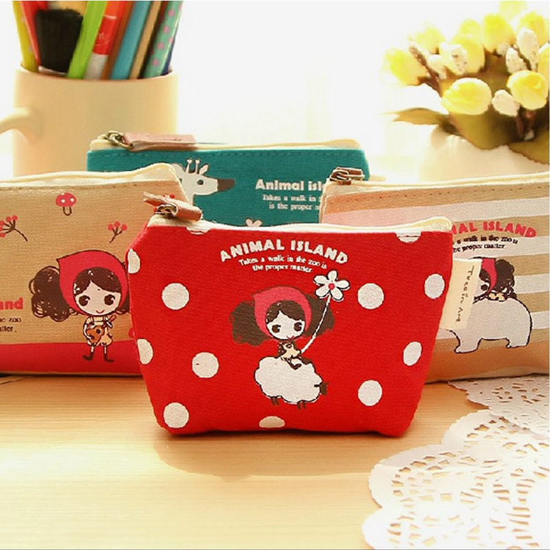 1pcs coin purses,Cute cartoon oprah girl canvas coin purses zero wallet child girl women change purse,lady zero wallets,coin bag