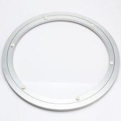 10 inch 250mm Leniwy Susan Wsporniki Aluminium Okrągły Łożysko Obrotnicy