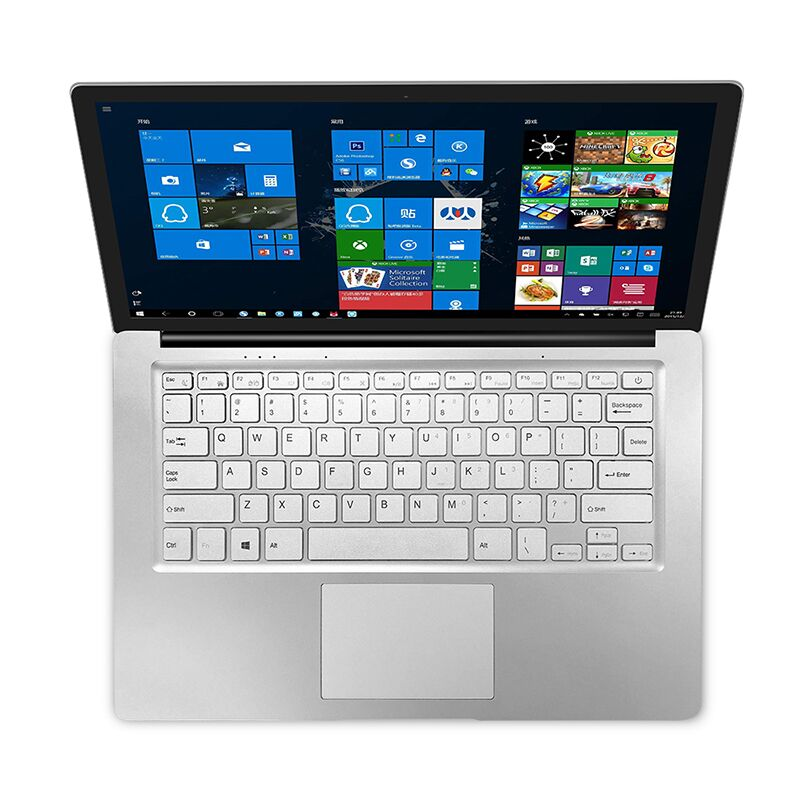 Jumper EZbook S4 Laptop  8GB RAM DDR4L 256GB (128GB SSD 128GB EMMC) 14.1 Inch Inetl Gemini Lake J3160 UHD Graphics 600