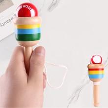 1 шт., умелая чашка Монтессори, игрушка из дерева, умелая чашка с мечом, развивающая интеллект, гладкие игрушки, развивающие игрушки, традиционные игры, игрушки