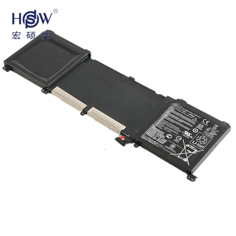 HSW Brand New 96Wh 11.4V C32N1415 Li-ion Laptop Battery For ASUS ZenBook Pro N501VW, UX501JW, UX501LW bateria akku hsw brand new 6cells laptop battery c4500bat 6 c4500bat6 6 87 c480s 4p4 for clevo c4500 series laptop battery bateria akku