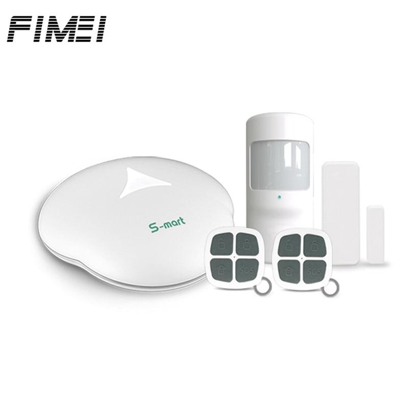 GS-S3 Alarm Systems Security GSM Home Alarm System with Remote Control Motion Sensor Mainframe Kits House Burglar Alarm dual network gsm burglar alarm system mobile remote control