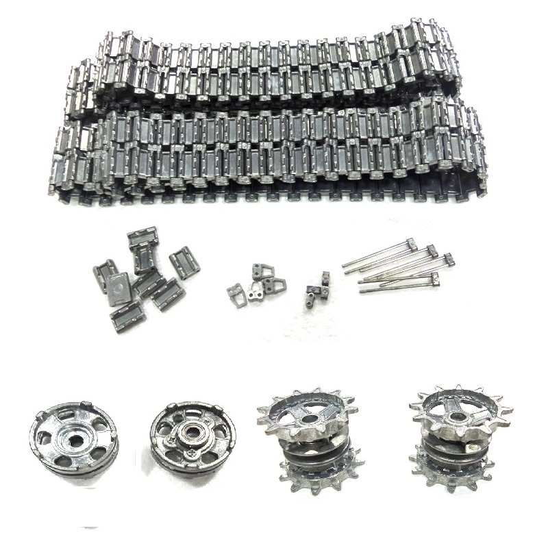 henglong 3938 3938 1 Russian T90 1 16 RC tank upgrade parts metal Chain set driving