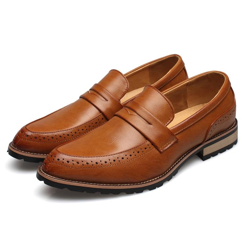 Kevään uudet villi terävä miesten kengät rento British Oxfordin - Miesten kengät