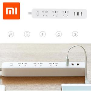 Original Xiaomi Mi Power Socket Portable Strip AU Plug Adapter with 3 USB Port 3 AC Outlets charger for iPhone xiaomi Smart Home
