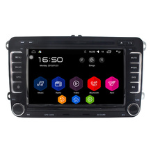 7″ Quad Core Android 6.0 Car DVD GPS 4G For VW Seat Skoda Fabia Roomster Superb Octavia Yeti 2006 2007 2008 2009 2010 2011 2012