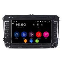 "7 ""Quad Core Android 6.0 Araba DVD GPS VW Seat Skoda Için 4G Fabia Roomster Superb Octavia Yeti 2006 2007 2008 2009 2010 2011 2012"