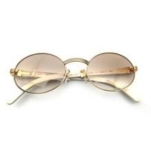 Classic Carter sunglasses men white buffalo horn glasses frame Shades Brand Sunglasses Oval Luxury Round  7550178